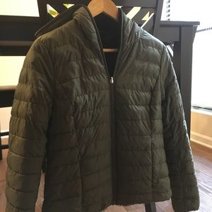 Melrose reversible quilted jacket